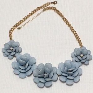 Francesca's Collection Floral Statement Necklace